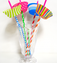 diy candle wax catcher. Paper Straw Candle Holders Tutorial  Use baking cups to catch wax drips So colorful Diy Drip CatcherPaper