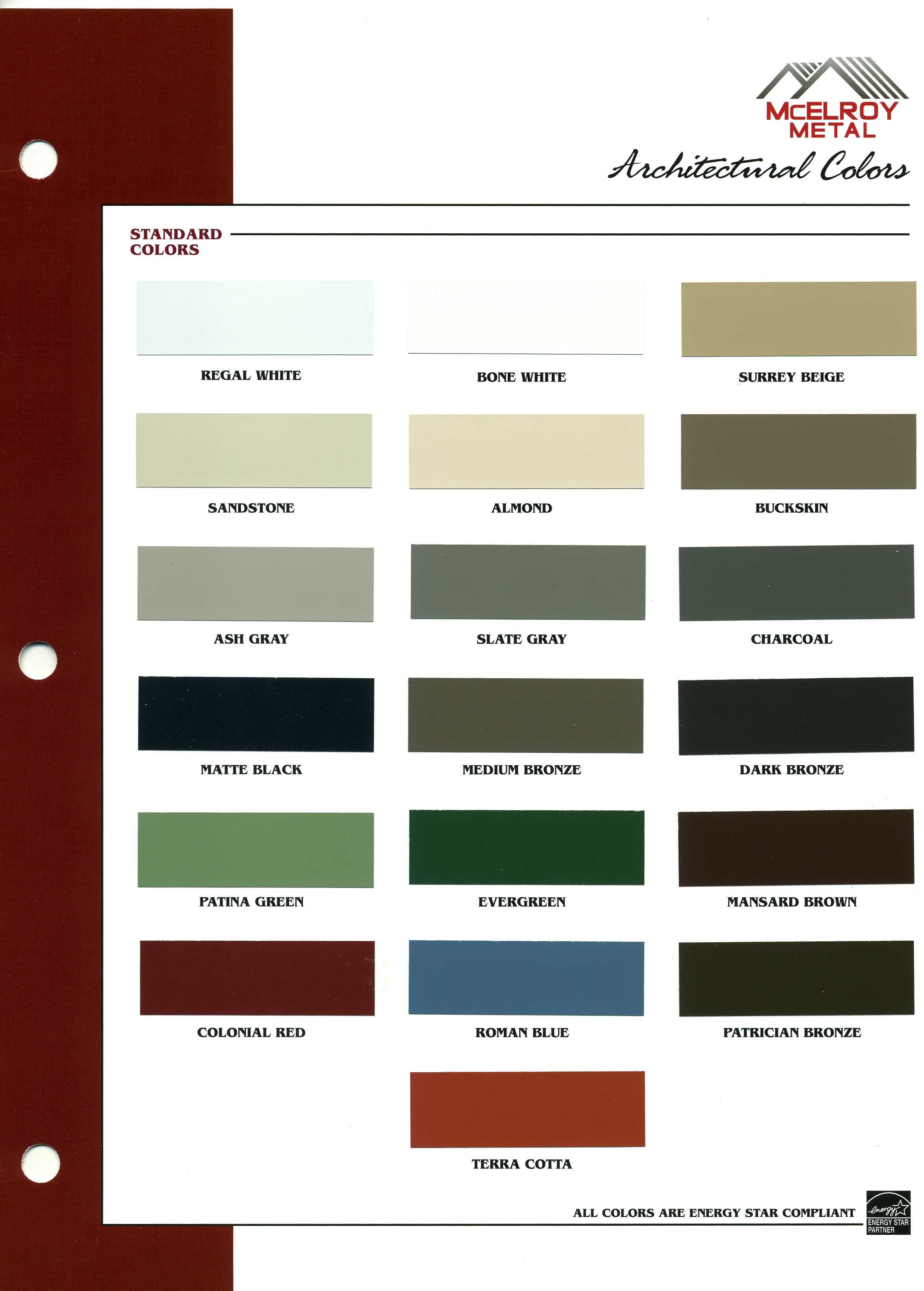Please Request A Hard Copy Chart Or Physical Sample Prior To Placing Your Order Colors Are Not Accurate On Computer M Metal Roof Colors Roof Colors Bone White