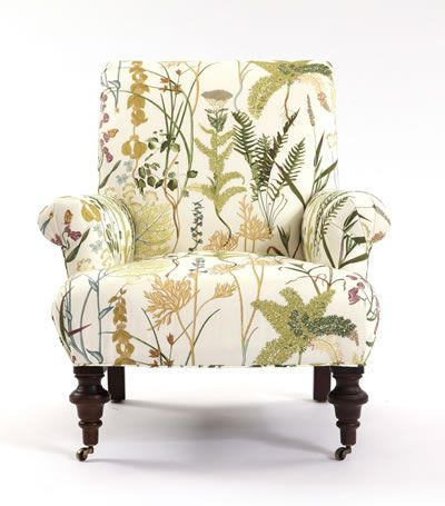 Upholstered Chair In Fern Spring From Calico Corners L Calico Home Upholstered Chairs Upholstered Furniture Patterned Chair