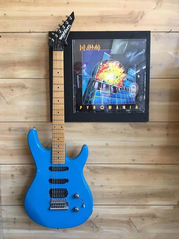 Original Used Good Condition Def Leppard Pyromania Lp X2f Album Jacket Guitar X2f Bass Holder Vinyl Record An Def Leppard Lp Albums Guitar Hanger