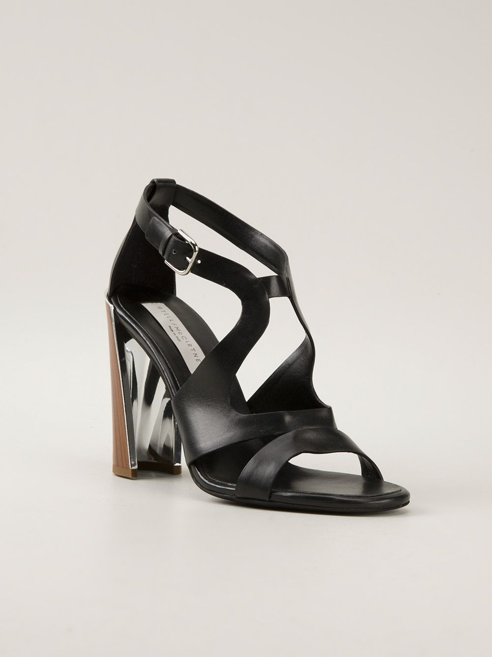 Stella McCartney - cross-strap sandal 6