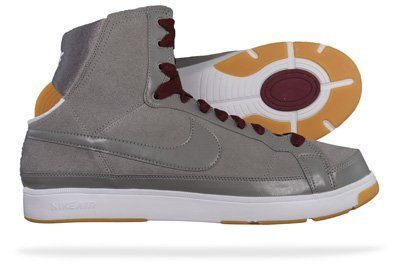 Nike Air Troupe Mid Womens Dance sneakers Shoes Grey