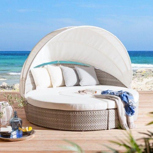 lounge insel sunbed sonneninsel jacklounge strandkorb. Black Bedroom Furniture Sets. Home Design Ideas