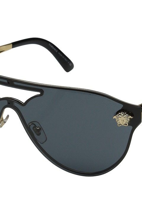 7cf2bd1ce0a1 Versace VE2161 (Gold Grey) Fashion Sunglasses - Versace