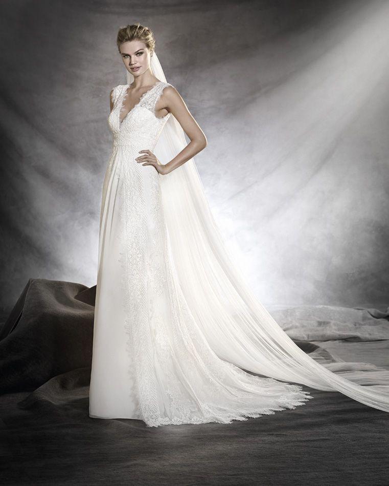 Robe de mariee – Pronovias – Odilia | Abiti Da Sposa | Pinterest