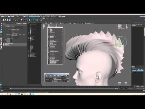 Free Hair grabber for Maya - Free Poly Tools Modeling