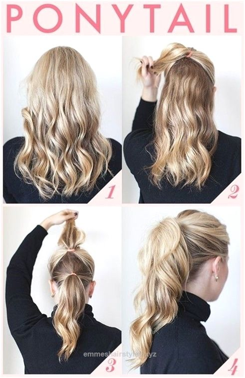 Nice Easy And Quick Ponytail Hairstyles For Work The Post Easy And Quick Ponytail Hai Ponytail Hairstyles Easy Ponytail Hairstyles Tutorial Office Hairstyles