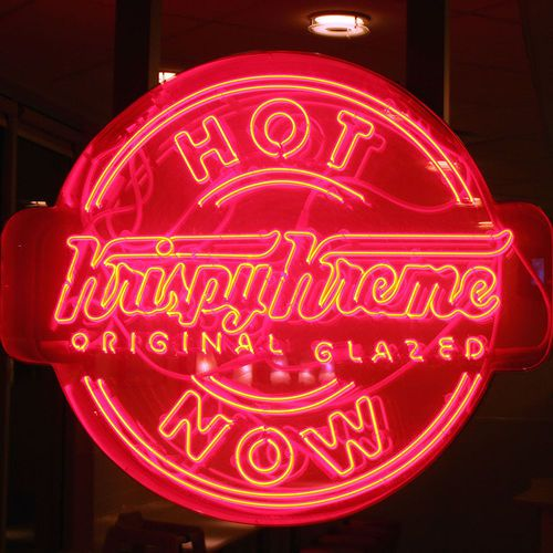 Krispy Kreme when the HOT NOW sign is on!   Atlanta Institutions ...