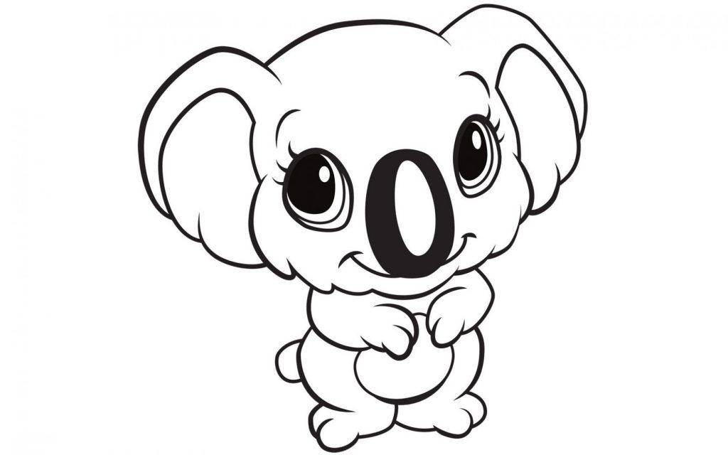 Animal Coloring Pages Animal Coloring Pages Cute Coloring Pages