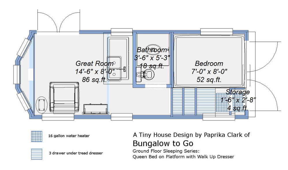Tiny Houses On Wheels Floor Plans Nice And Comfortable Design Interesting And Amazing Tiny House Trailer Tiny House Floor Plans Tiny House Trailer Plans