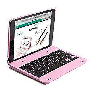 premium selection 5afa2 325ed Amazon.com: iPad Mini 4 Keyboard Case, Eoso Ultra Thin Folio Smart ...