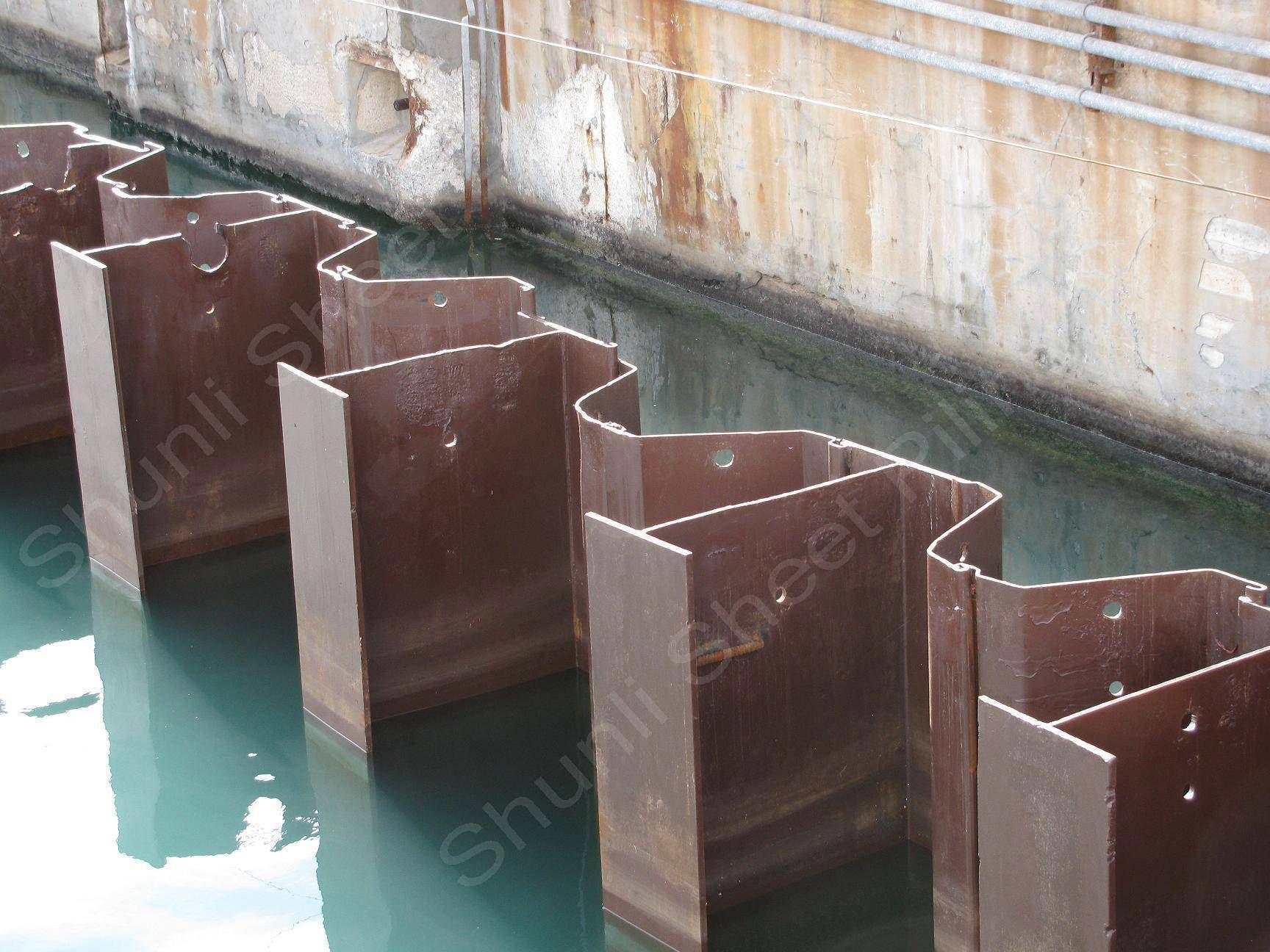 Steel Sheet Pile Sheet Piles Shunli Steel Group For