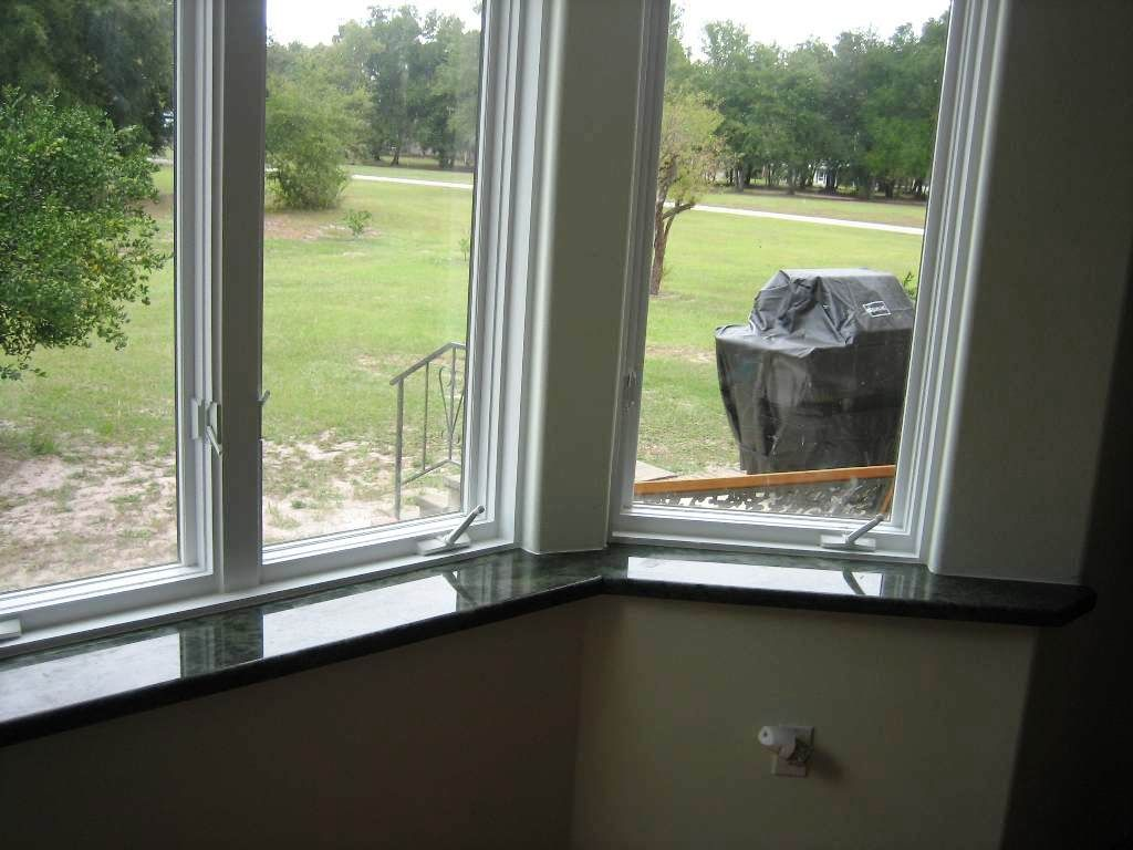 Beautiful Marble Window Sills add a level of protection
