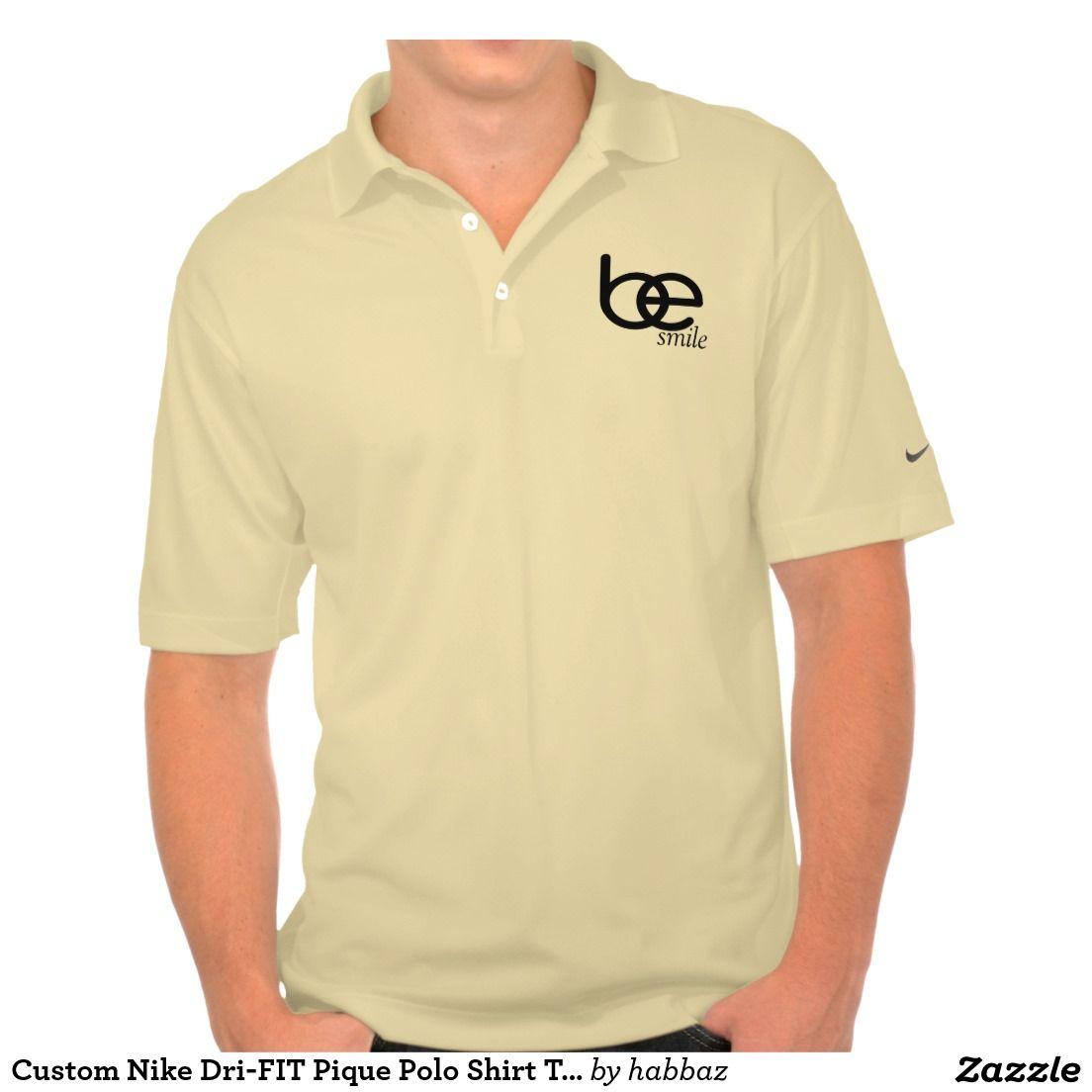 Custom Nike Dri Fit Pique Polo Shirt Template Be T Shirts