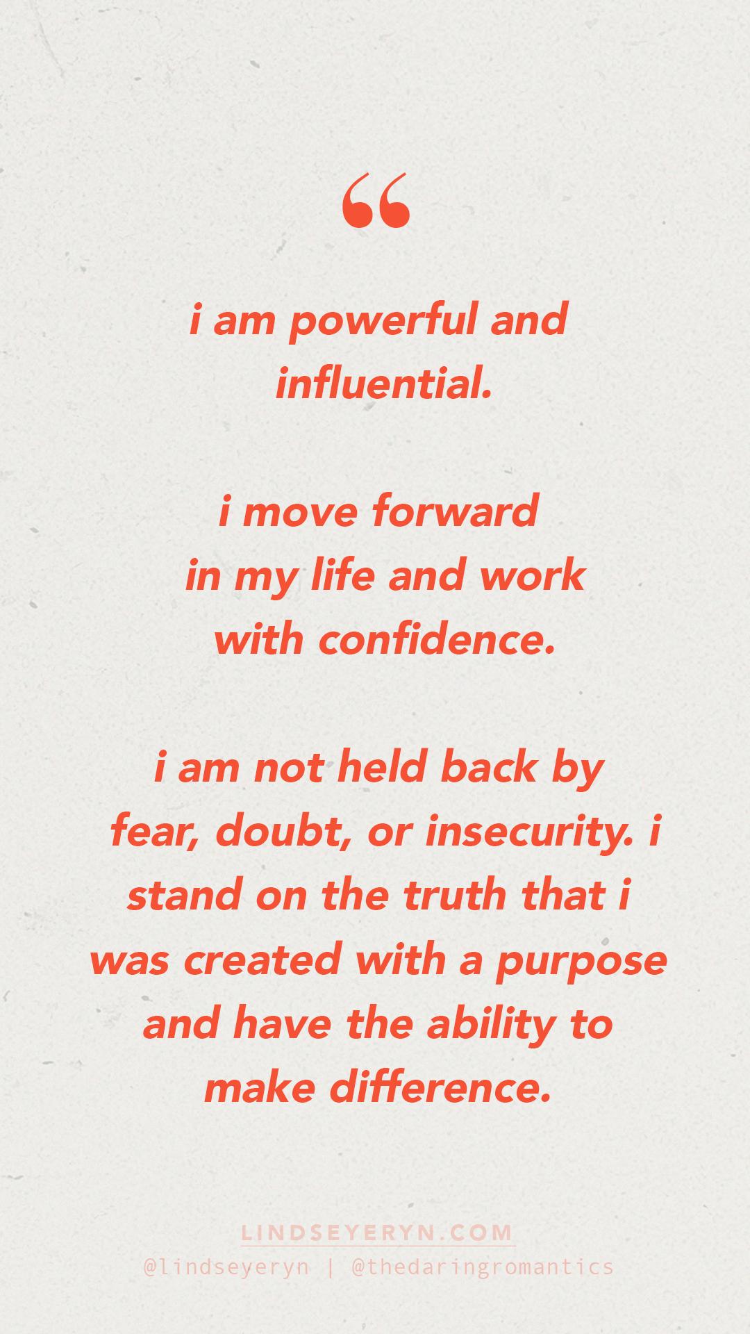 Positive Affirmation Self Esteem