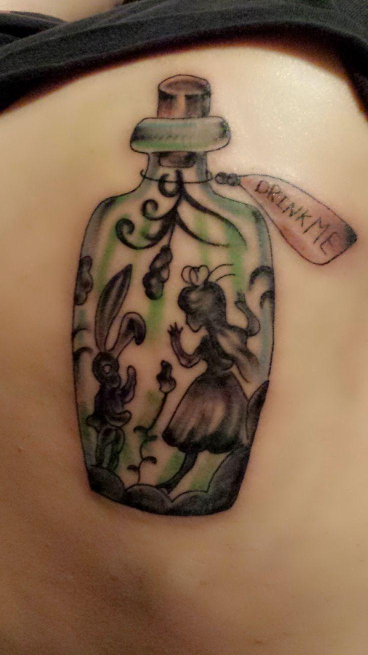 awesome Women Tattoo - Alice In Wonderland Tattoo - Pretty Girly ... - Tattoo Alice Im Wunderland