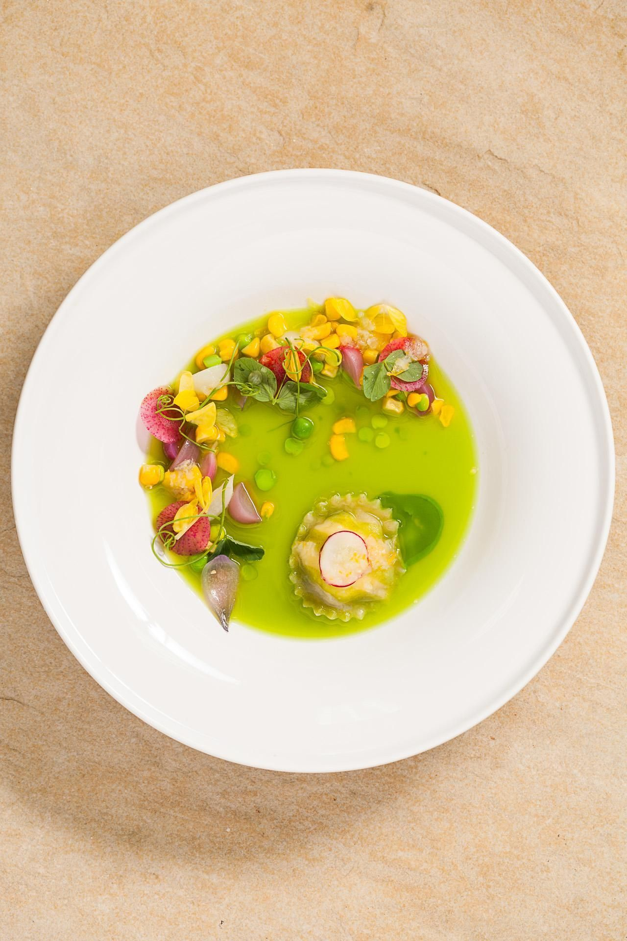 When one famous chef fêtes another, you know something special is in store. Here are all the gorgeous dishes, with notes from a top toque on each, from a recent lunch at Modernist Cuisine HQ, which Italian superstar chef Massimo Bottura attended.
