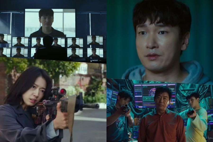 """Watch: Cho Seung Woo And Park Shin Hye Find Themselves In A World Of Mayhem In """"Sisyphus: The Myth"""""""