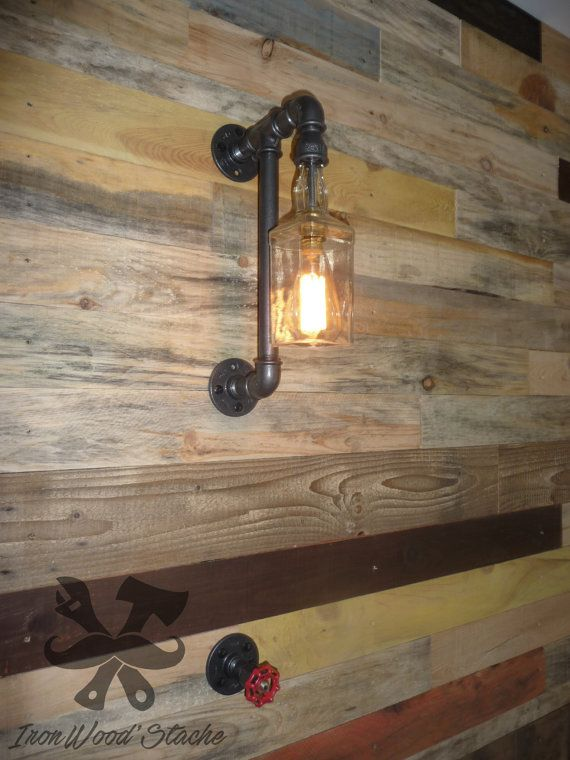 Muur Jack Daniels Toepassen Een Originele Meubilair Dat Op Dit Moment Een Zeer Chique Industriele Touch In Vogue Za Rustic Pendant Lighting Lamp Plates On Wall