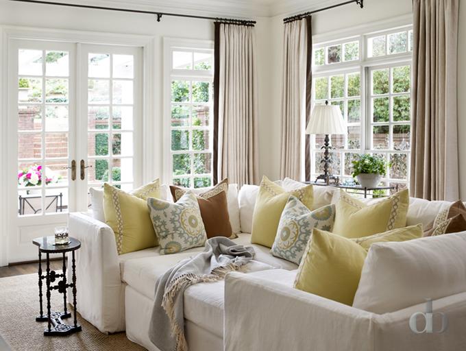 Cozy Sectional | Jessica Bradley Interiors