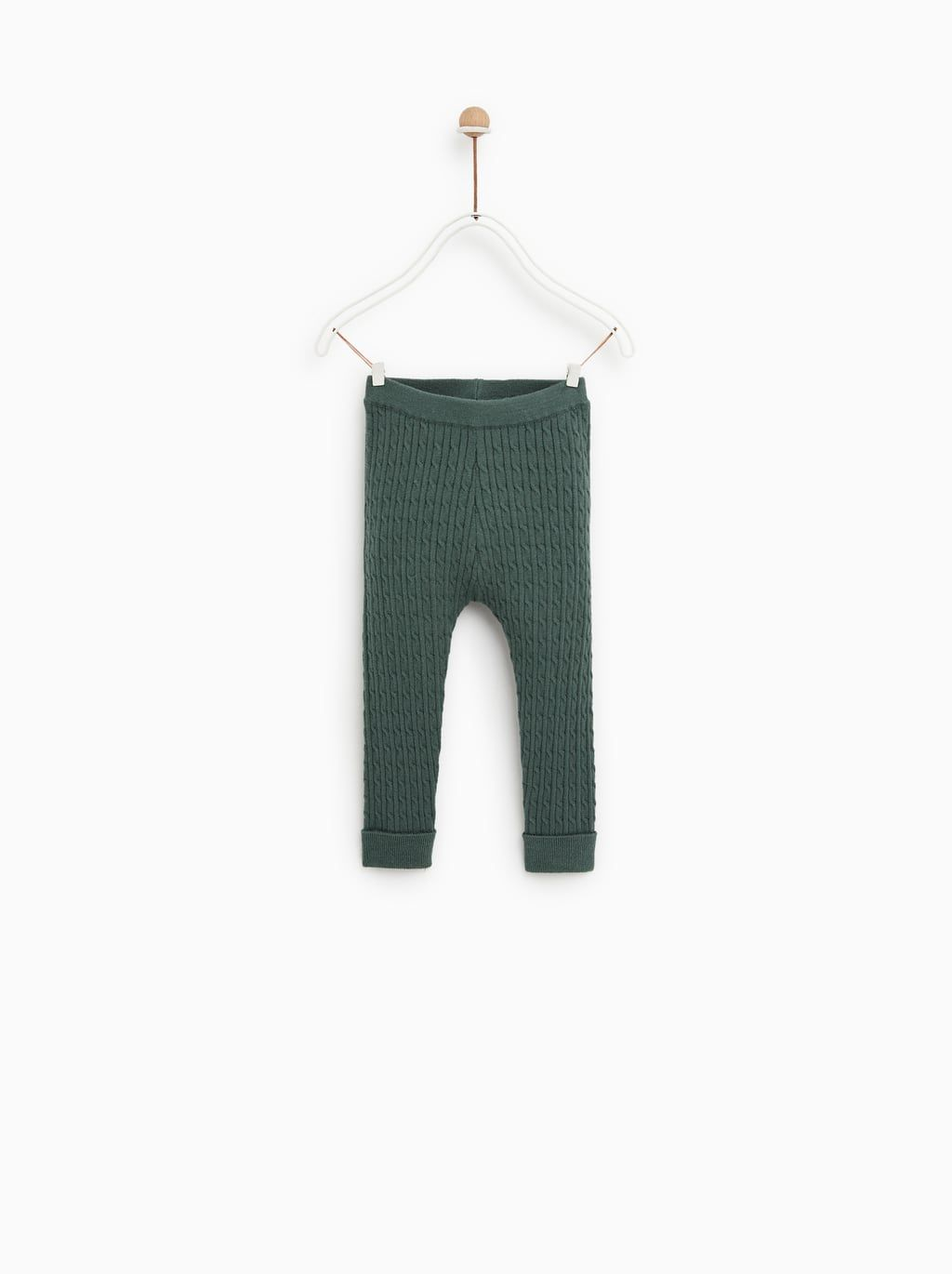 CABLE KNIT LEGGINGS-View All-KNITWEAR-BABY GIRL  c1990e21b265e