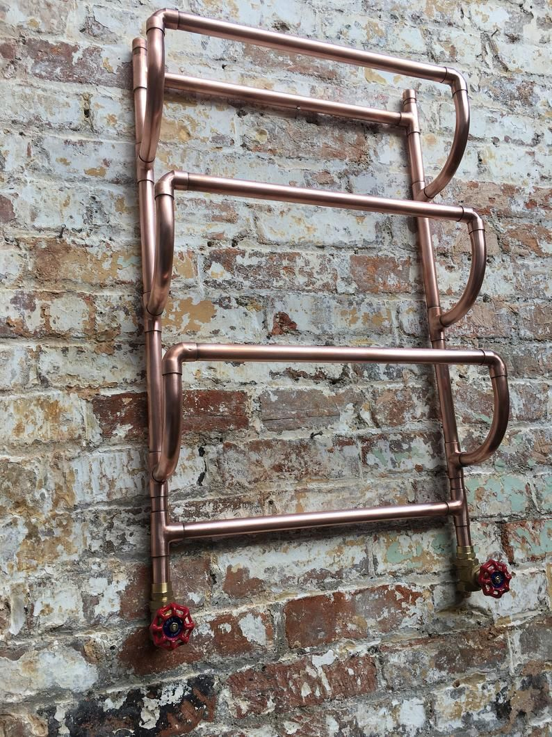 Photo of Copper towel radiator