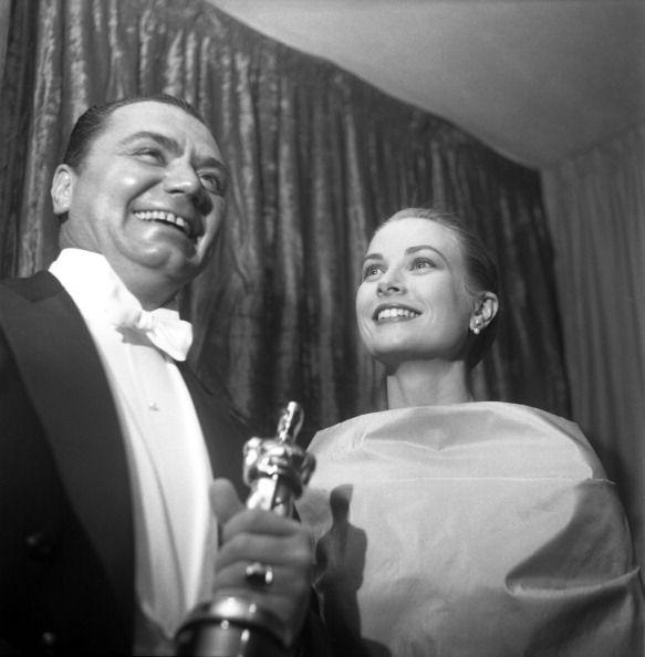 Ernest Jerry: Awarding Ernest His Oscar In 1956