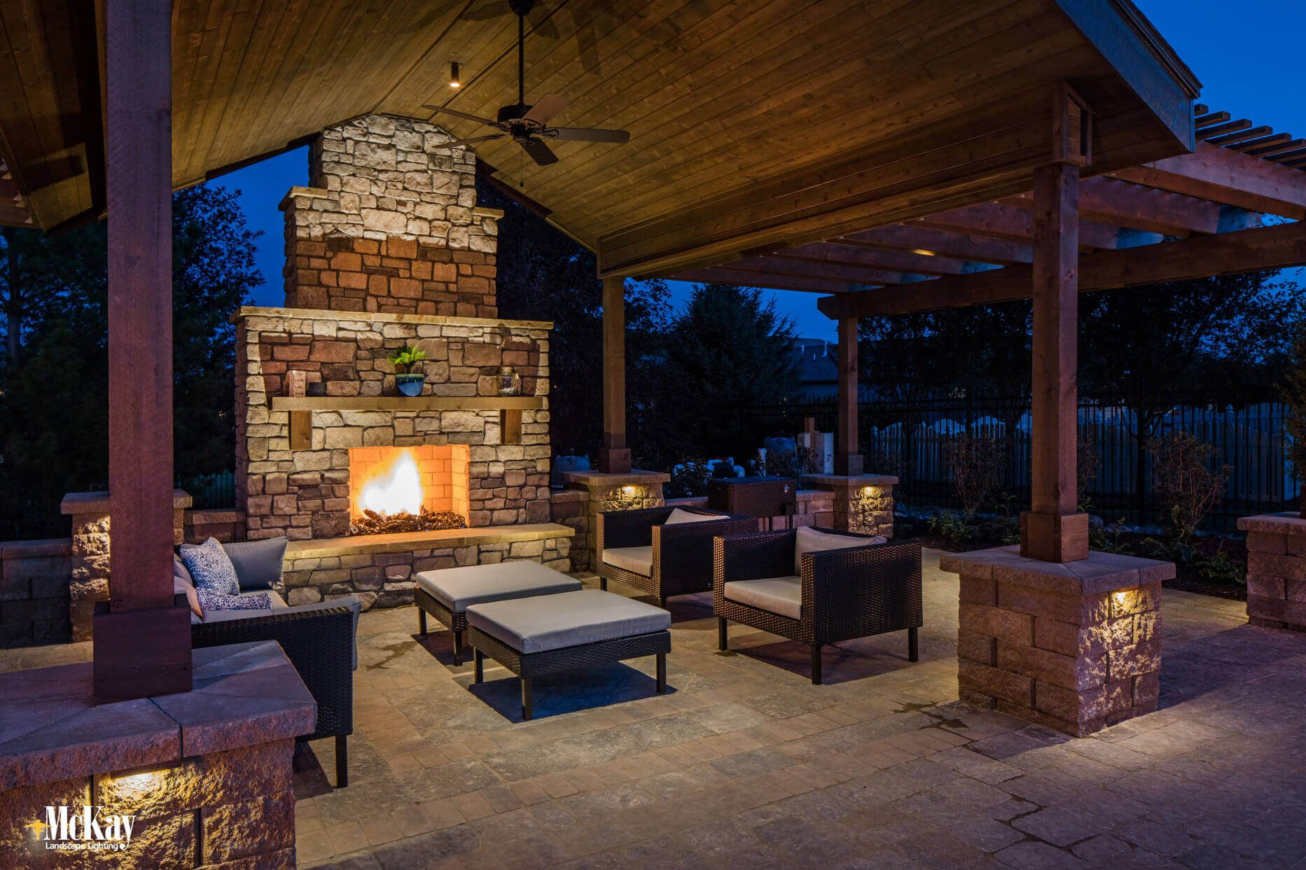 Friday Favorites Outdoor Fireplace Lighting Outdoor Patio