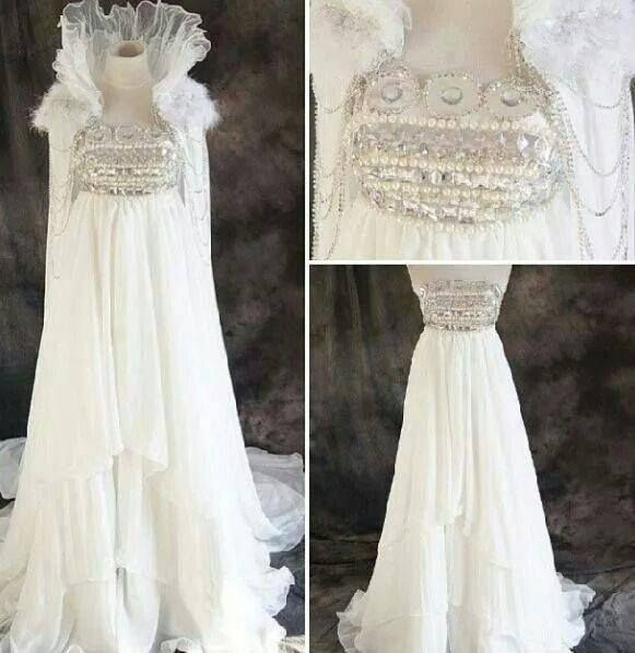 A Dress Modeled After Princess Serenity's Ball Gown