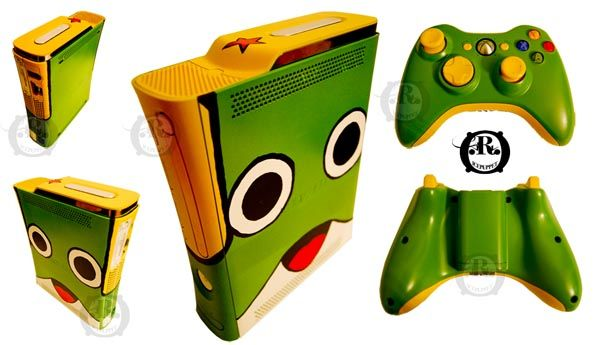 Custom Xbox 360 Game Console By Ricepuppet Xbox 360