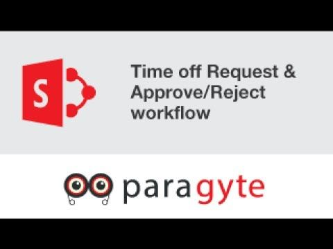 Sharepoint Training Tutorial Time Off Vacation Request And
