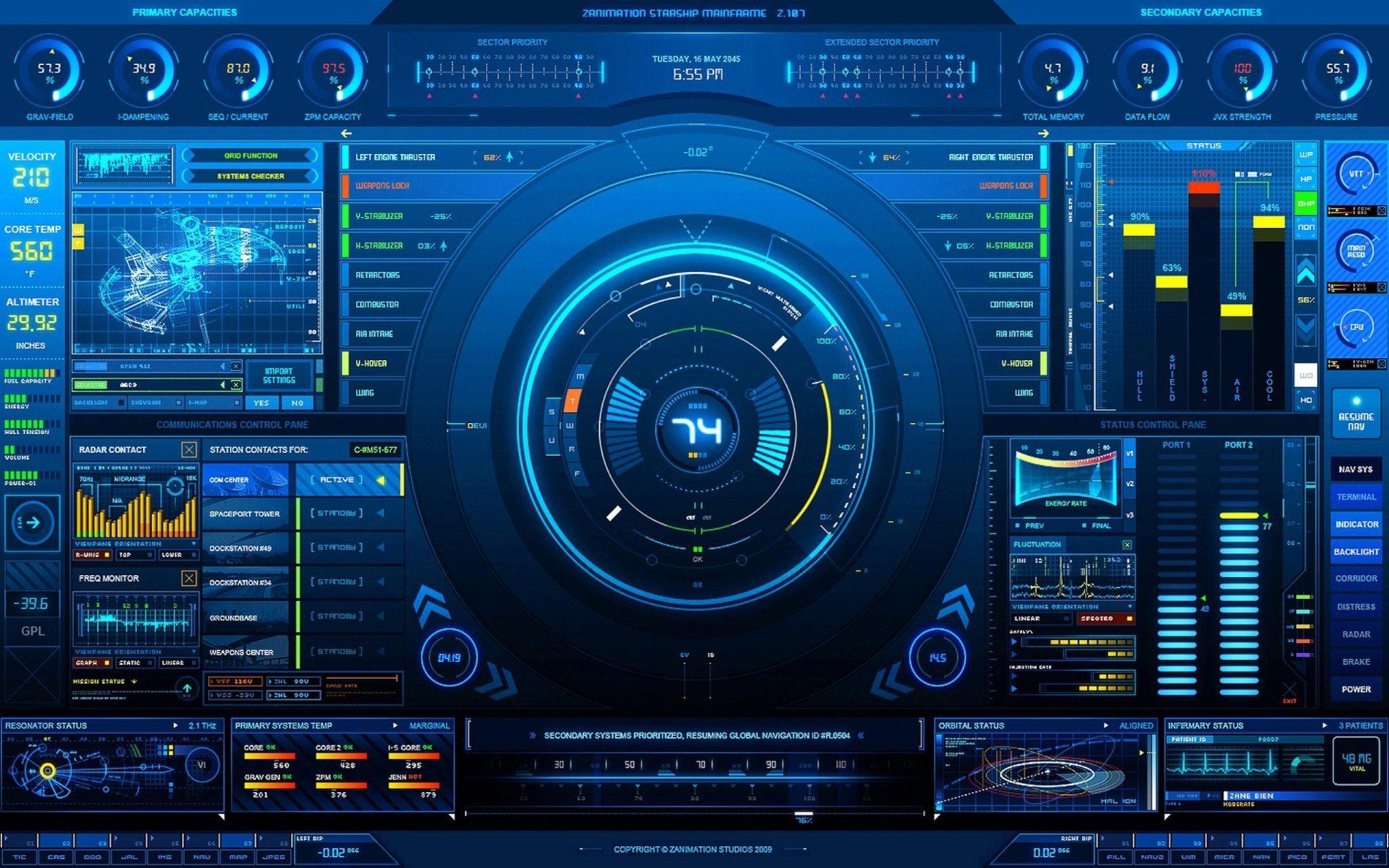 Tech Screen Wallpaper Technology wallpaper, Interface