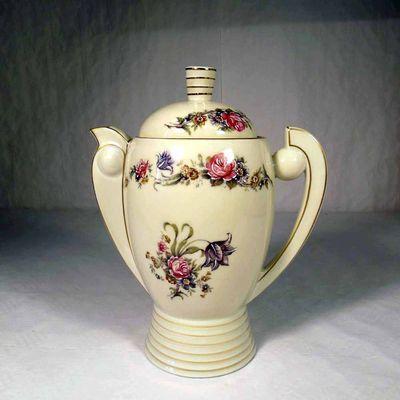 Beautiful Tea Pot Limoges Porcelain Tharbad H.T. ca. 1930