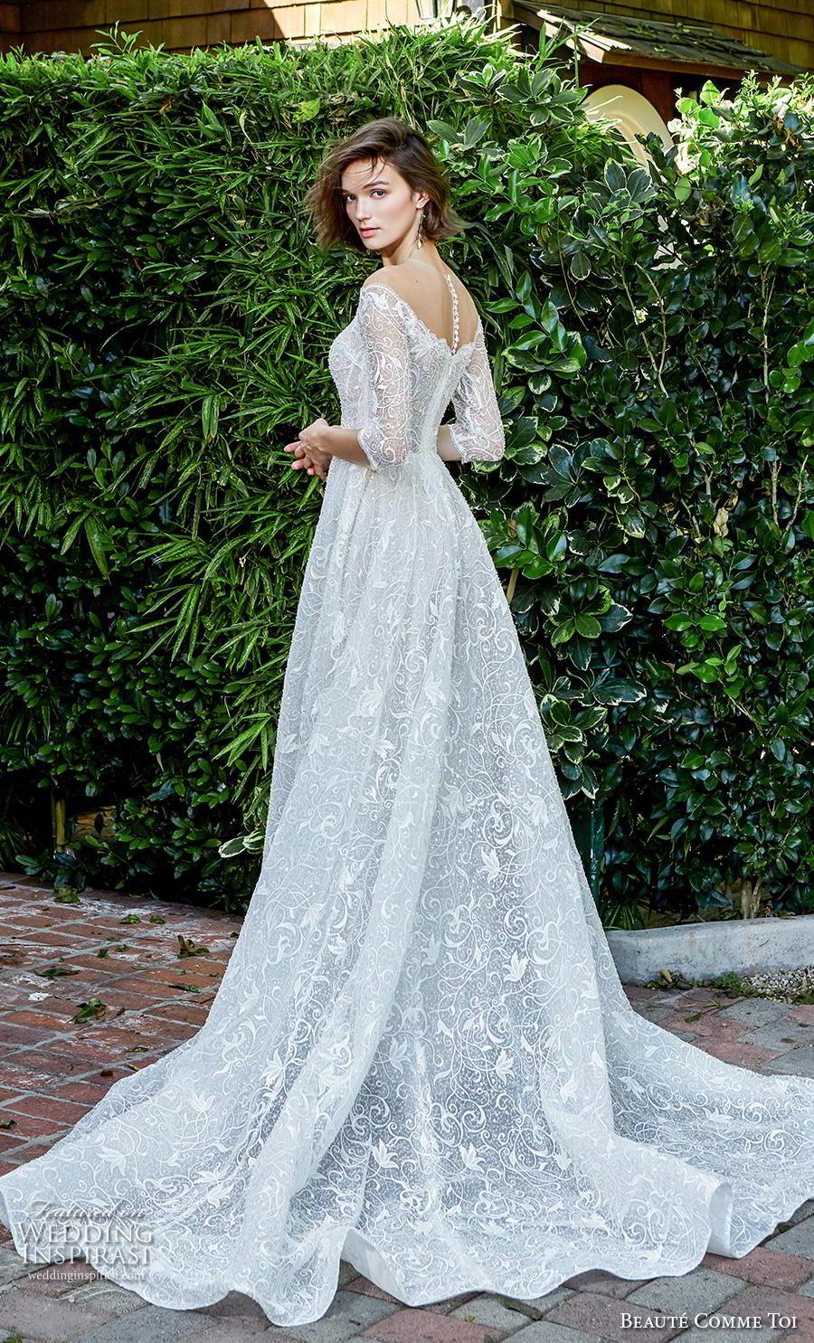 "Beauté Comme Toi Herbst / Winter 2020 Brautkleider – Brautkollektion ""Kiss Me Over The Garden Gate""   – Wedding inspiration"