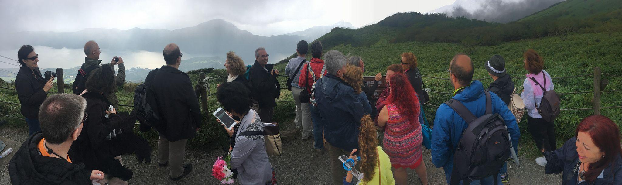 #Viaje a #Japón #PERIPLOS Octubre 2016 - En la cima del Monte Komagatake