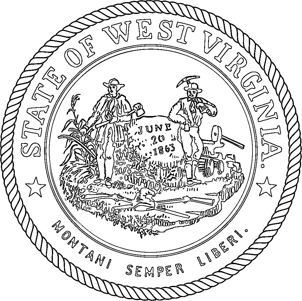 92 click the west virginia state seal coloring pages ...