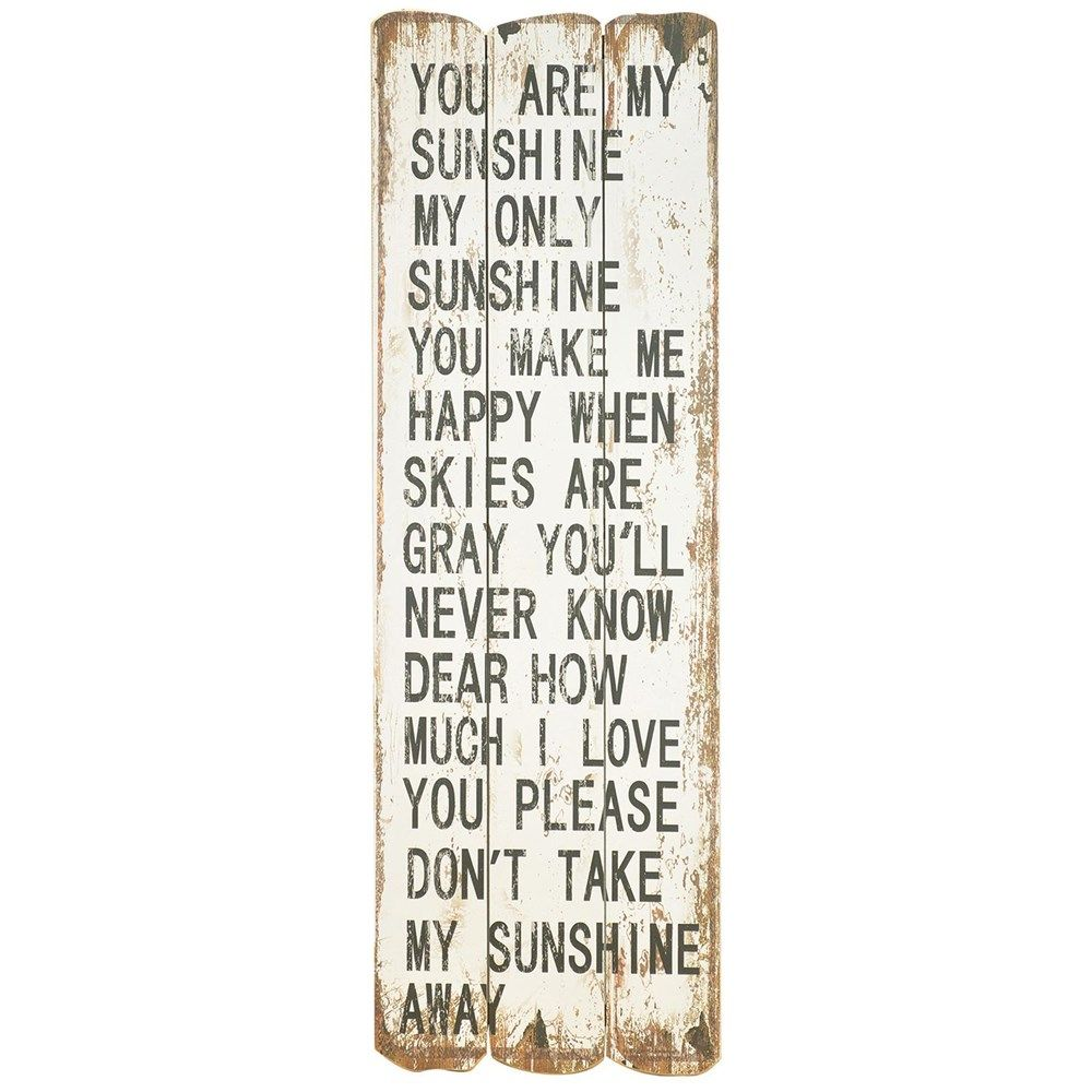 You Are My Sunshine artwork, new at #Muenchens Furniture from the Crestview Collection!