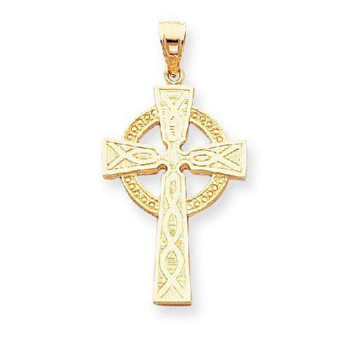 14k Gold Celtic Cross Pendant Pricerock 288 56 Save 65 Jewelry Necklaces Jewelry Cross Pendant