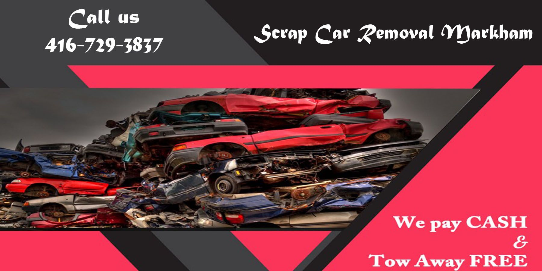 We offer mobile Scrap Car Removal Toronto services in the
