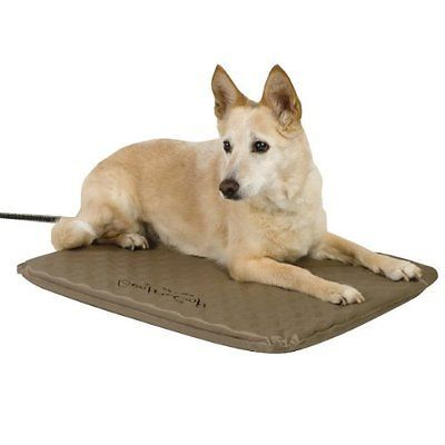 New K H Lectro Kennel Outdoor Indoor Heated Dog Cat Pet Bed Pad