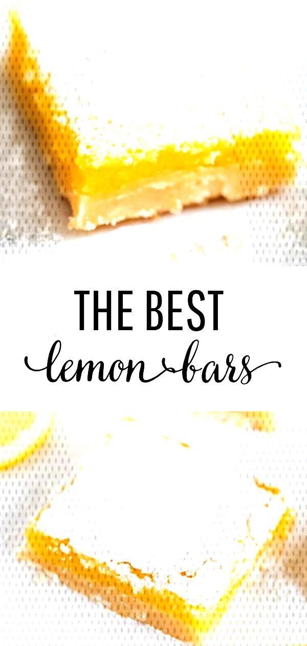 BEST lemon bars recipe - I Heart Nap Time -