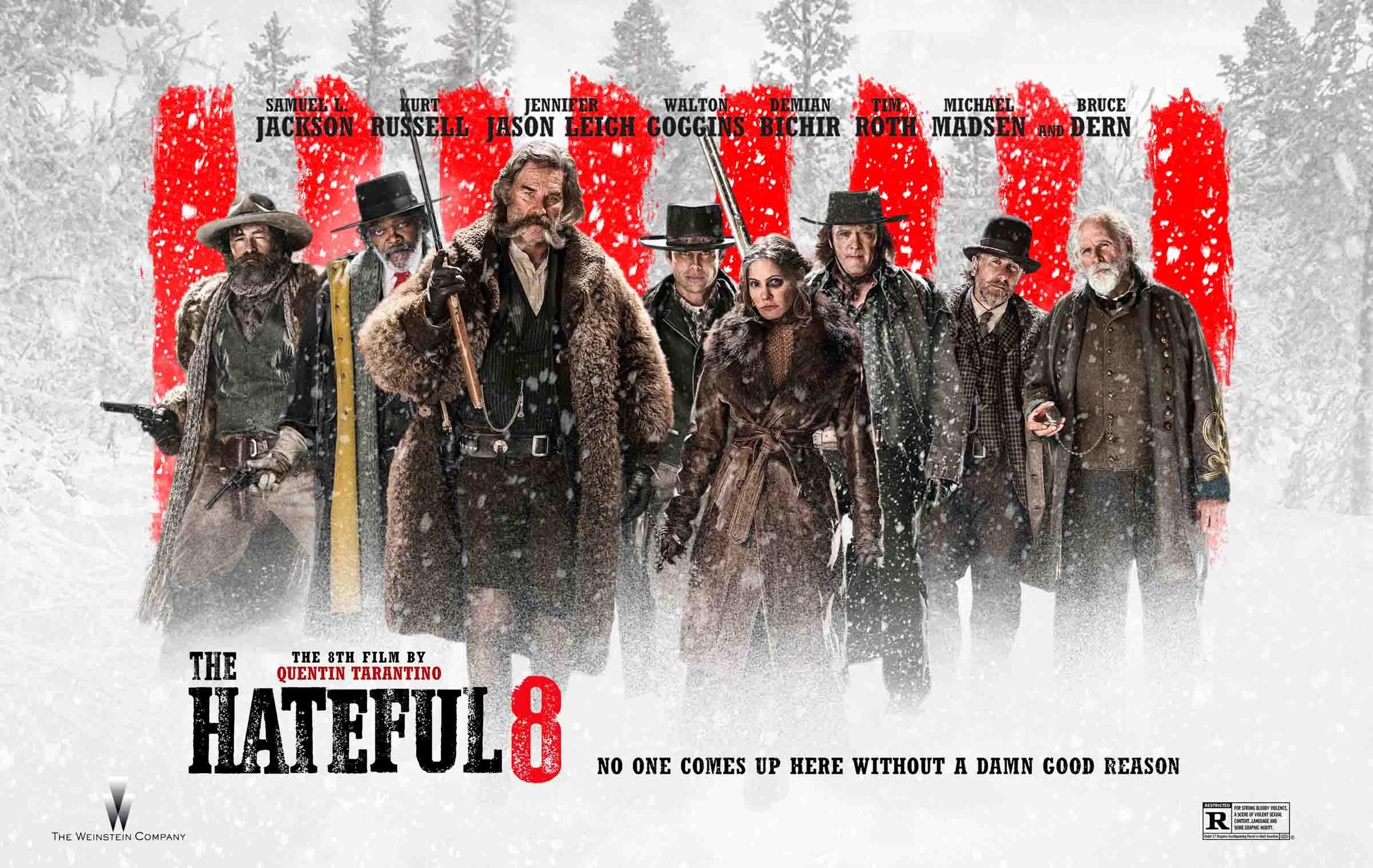 Os Oito Odiados De Quentin Tarantino Samuel L Jackson Tim