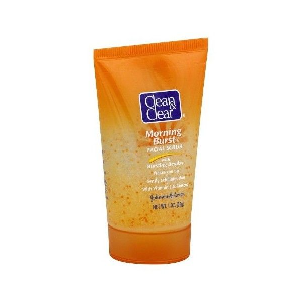 Clean Clear Morning Burst Oil Free Acnewash 1 oz ($0.97) via Polyvore featuring beauty products