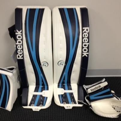 Sick Custom Set of Reebok Goalie Pads | Custom Goalie Gear | Hockey