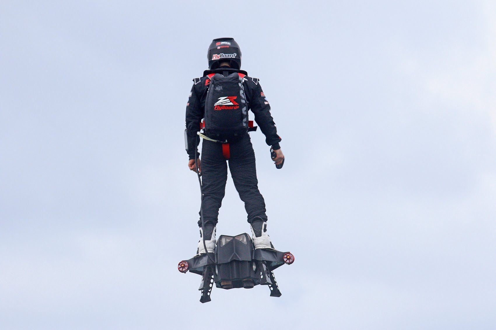 Science> NEXT BEST THING>Flyboard® Air Farthest flight by hoverboard (achieved on 30th April 2016...