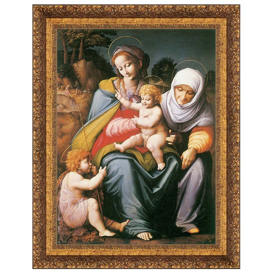 Park Avenue Collection 36X47 The Virgin And Child