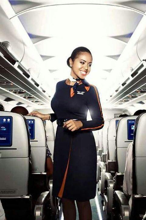 JetBlue's new uniform 2014 Flight attendant uniform