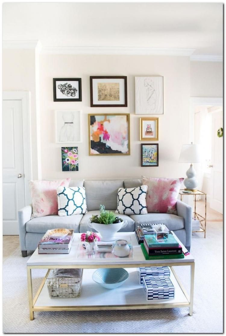 60+ Cozy Living Room Inspirations For Small Apartments   Living Room ...