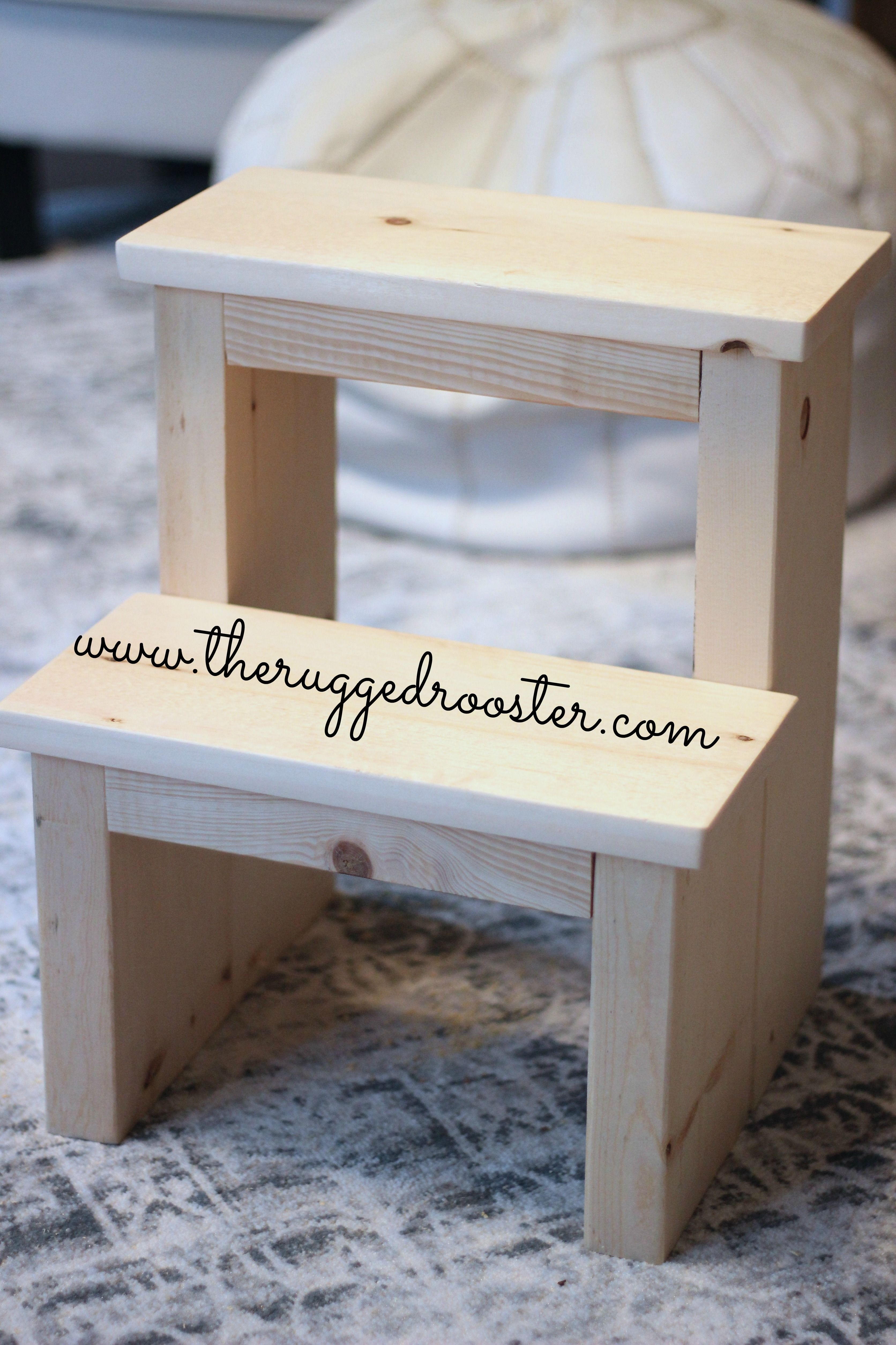 Learn How To Build The Easiest Diy Step Stool In 2020 Step Stool Diy Diy Stool Wooden Step Stool