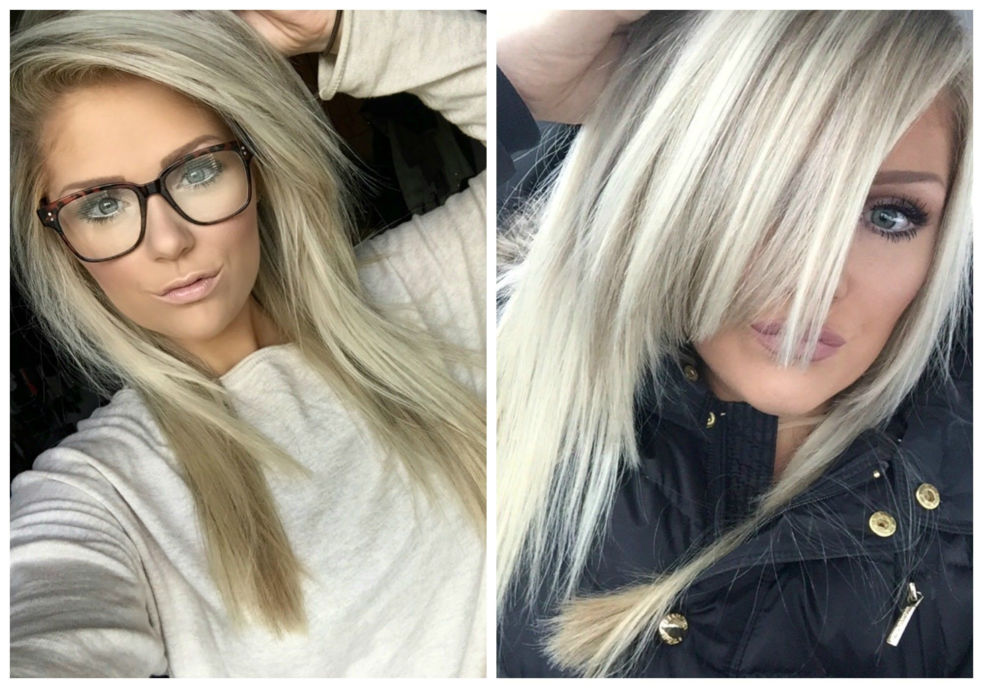 All About My New Ash Blonde Hair